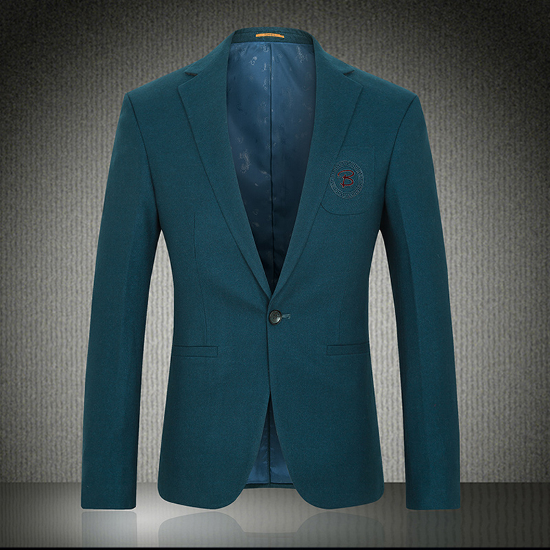 2015 fall new high-end mens suit jacket with dust cover green suitОдежда и ак�е��уары<br><br><br>Aliexpress