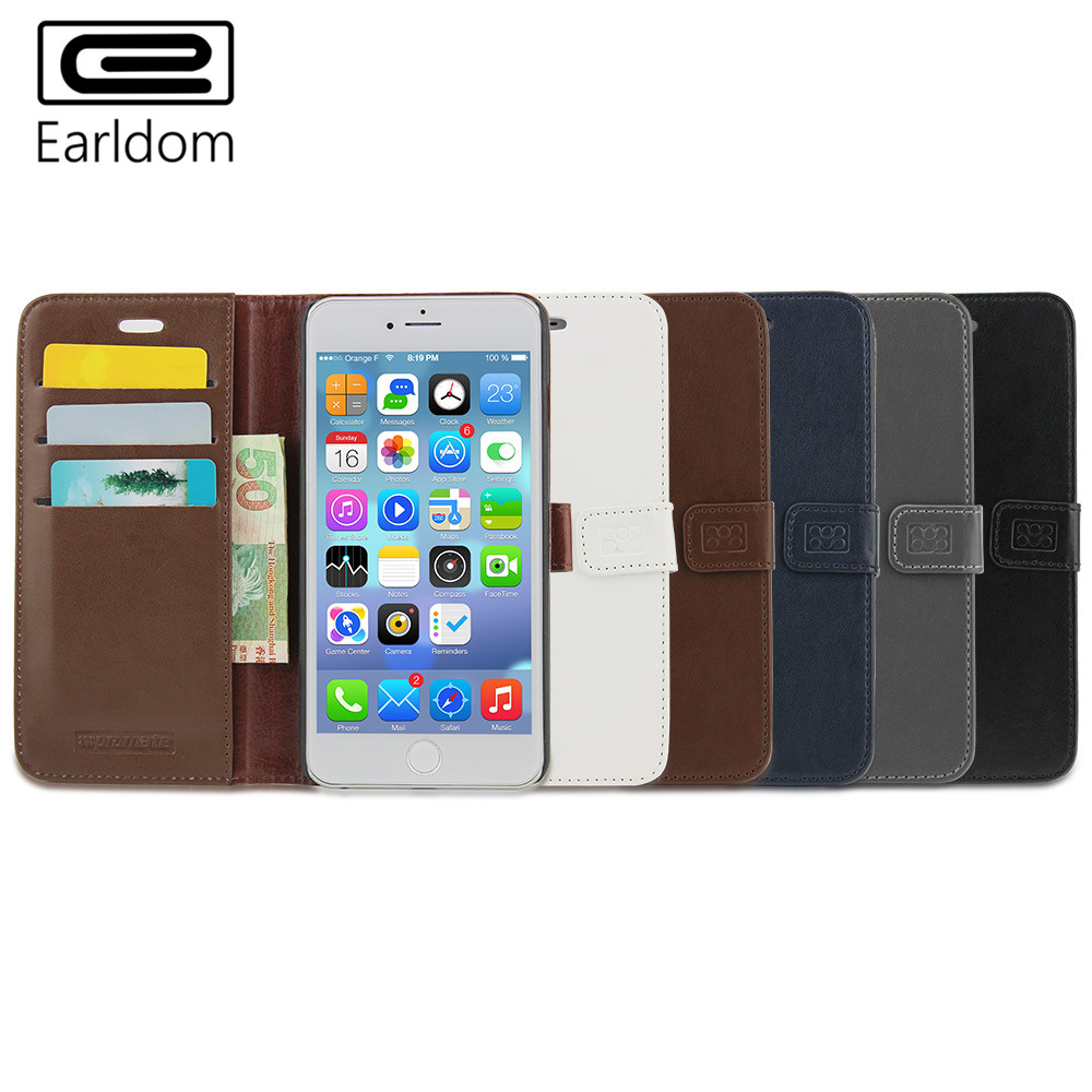 Multifunction Phone Cases Card Wallet Thin Section Full Coverage Dust-proof Earldom Brands Wholesale(China (Mainland))