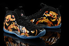 2014Free Shipping Air Foamposite One Sport Royal And WEATHERMAN Basketball Shoes(China (Mainland))