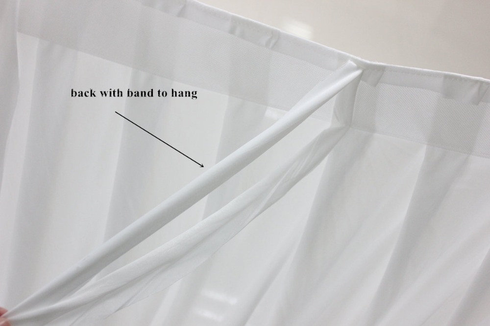New fashion White Popular Ready Made Wedding Backdrops 20ft w x 10ft h for wedding decoration