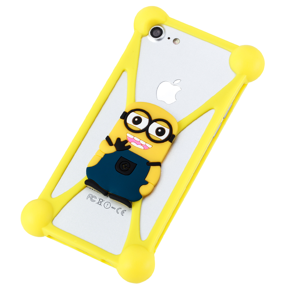 Popular Silicone Universal Mobile Phone case Cover For HTC Desire 530 13 cartoons to choose(China (Mainland))