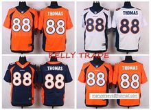 100% Stitiched,Denver Broncos Demaryius Thomas for mens(China (Mainland))
