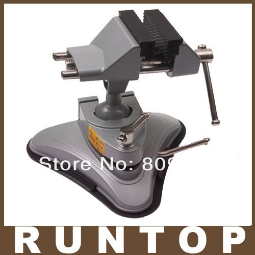 Heavy Duty Clamp Vacuum Base Bench Vise Rotatable(China (Mainland))