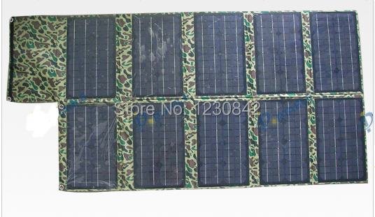 100W 18V Portable Military Version Flexible Solar Panel Charger for Notebook, Mobile phone, MP4, MP3(China (Mainland))