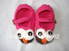 crocheted baby booties promotion