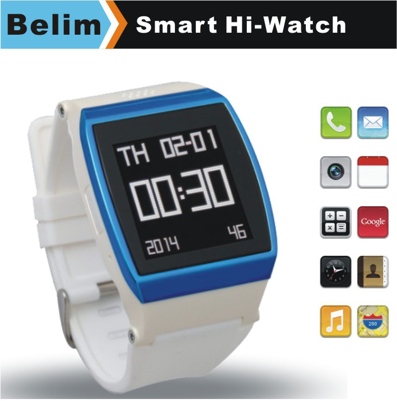 "Free Shipping Hi Watch Phone with 1.55"" Touch Screen Quad Band GSM MP3/MP4 Bluetooth Dialer Watch Support GPRS WAP FM Pedometer(China (Mainland))"