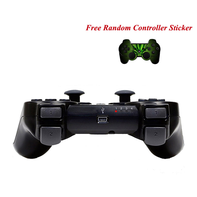 For PS3 Dualshock 3 Wireless Bluetooth Game Controller SIXAXIS Joysticks Gamepads Controller Controle For Sony for Playstation 3(China (Mainland))
