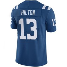 Men's Andrew Luck 12# T.Y. Hilton #13 Royal Color Rush Limited Jersey Embroidery Logos and 100% Stitched Free Shipping(China (Mainland))