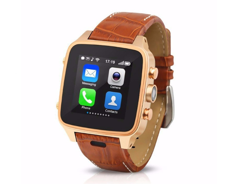 WCDMA 3G Android 4.4 smart phone watch MTK6572 dual core 8GB ROM + 512MB RAM waterproof wifi GPS 3G android phone watch(China (Mainland))