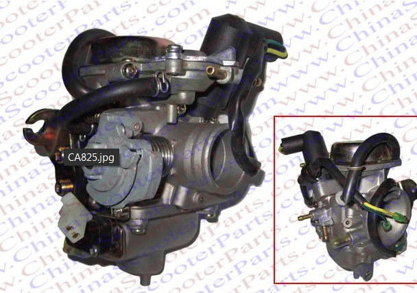 26mm Carburetor font b GY6 b font 150cc Howhit Jonway Baotian Roketa Baja Tank Vita Jcl
