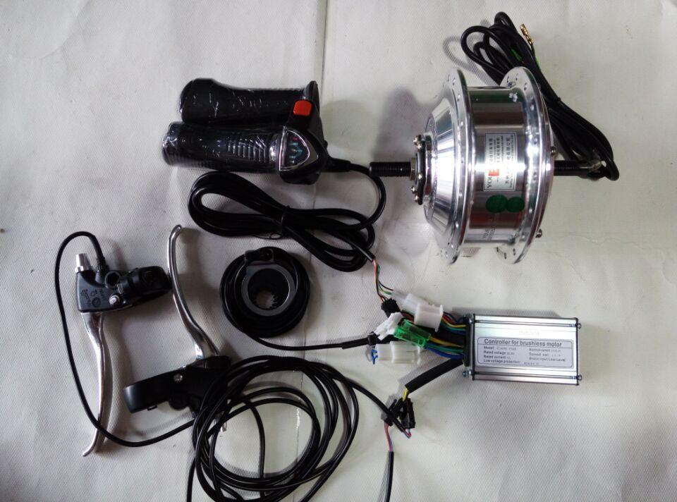 DC36V 250W front brushless gear hub motor wheel ,road bike/bicicleta mountain bike kit , electric bike conversion kit(China (Mainland))