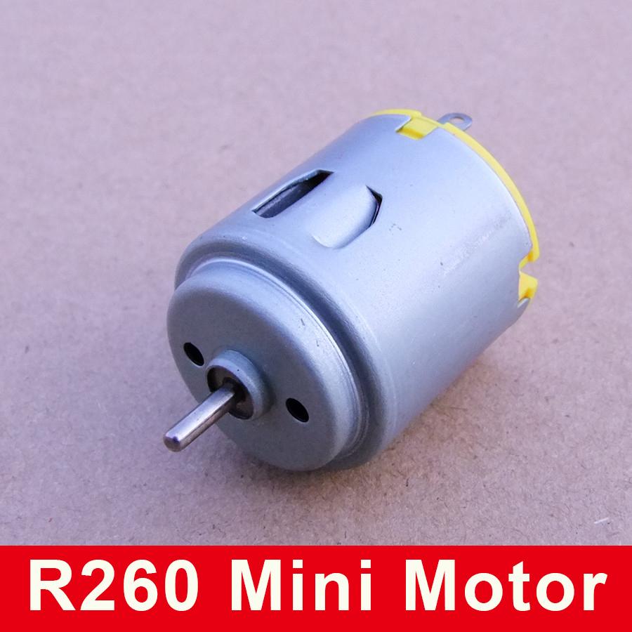 R260 Micro Dc Motor Toy Car Remote Control Car Motor Small