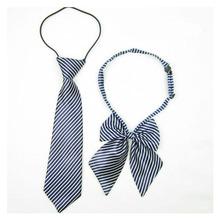 2016 Trendy Polyester Yarn Tie Neck Tie For Children Classic Striped Pattern Tie Cravat Brand Popular Apparel Tie For Girls&Boys