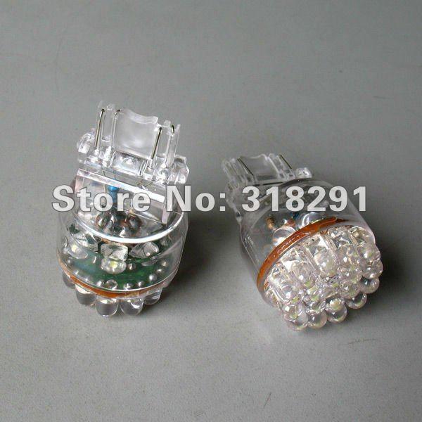 Wholesale 1156 24 LED Car LED Brake Turn Light Automobile Lamp Wedge Bulbs BA15ST20/T25/1157/3156/3157/7440/7443