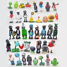 Buy 5 Styles 8pcs/lot Kids Toys Plants vs Zombies PVZ PVC Action Figure Toys 3-8cm Plants + Zombies Mini Figure Collection Model Toy for $8.96 in AliExpress store