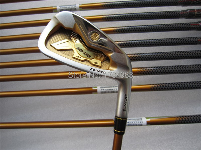 4 Star Honma IS-02 Iron Set Golf Irons Clubs 4-11AwSw Regular/Stiff Graphite Shaft Come Head Cover - Leisures store