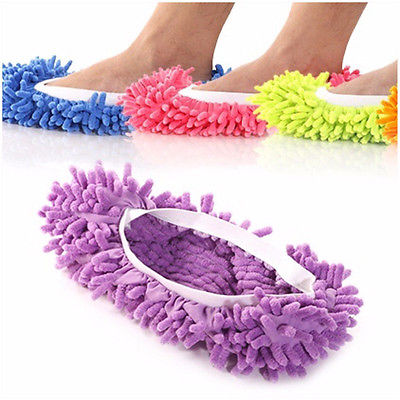 House Floor Foot Sock Shoe Mop Slipper Lazy Quick Polishing Cleaning Dust Fashion Cleaning Shoes Mops(China (Mainland))