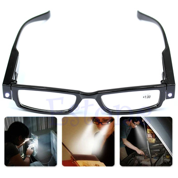 Multi Strength LED Reading Glasses Eyeglass Spectacle Diopter Magnifier Light UP-PY