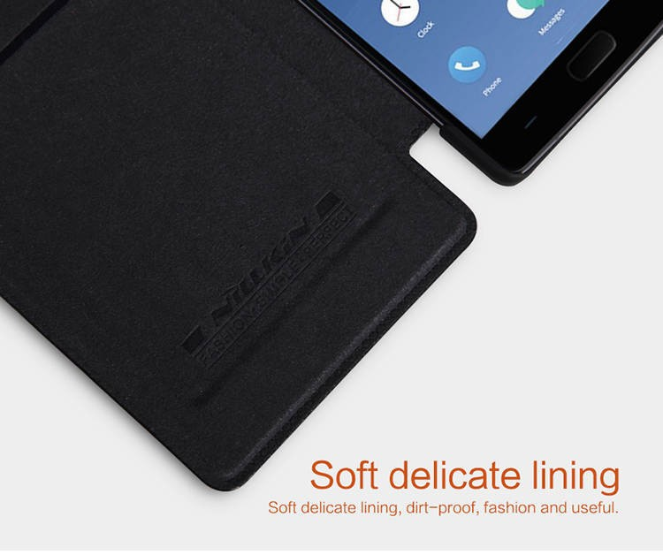 Nillkin Genuine Wallet Leather Case cover For Oneplus two phone bags skin case for one plus 2 oneplus 2 + screen protectors