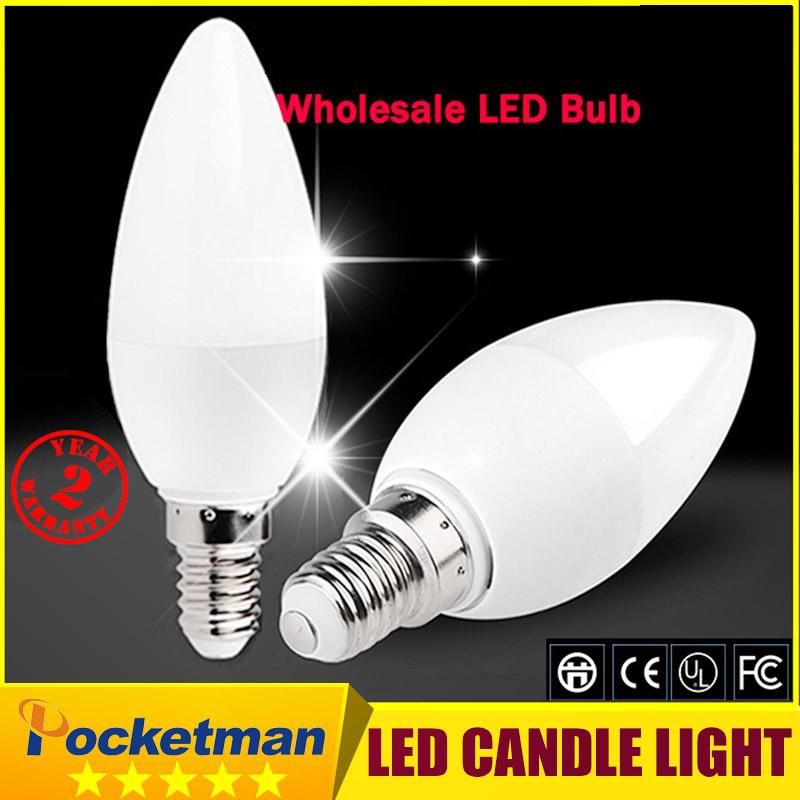 Free Shipping! 1PCS/Lot LED Candle Light 2835SMD Bulb Lamp High Brightnes 5W E14 AC220V 230V 240V Cold White/Warm White(China (Mainland))