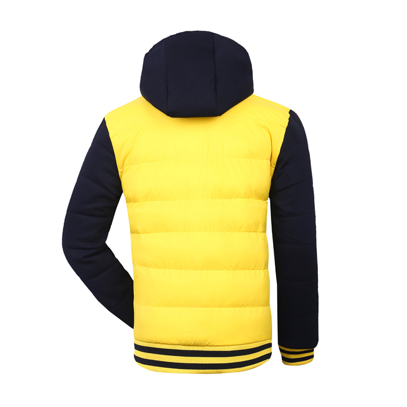 Down Coat Mens Fashion Autumn Winter New Brand Clothes Hot Sale High Quality Outdoor Sports Wholesale