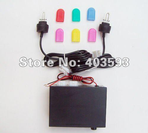 High brightness car  motorcycle flash lamp strobe light u xenon fog lamp led flash   lamp(China (Mainland))
