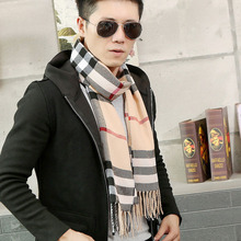 Fashion 2016 autumn Winter warmer scarf men spain Brand Big Size plaid blanket Scarves women Pashmina femal Shawl cachecol