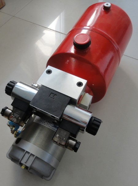 Manufacture factory 24vdc high quality motor hidraulico of for Hydraulic pump motor units