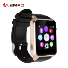 Lemfo Smart Watch Bluetooth Smart Watch GT88 Smartwatch For Apple iPhone /5/5S S4/Note 3 HTC Android Phone Smartphones