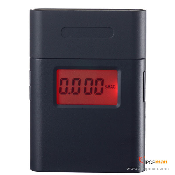 100pcs Patent alcometer breathalyzer AT-838 digital LCD alcohol tester Breath Analyzer with 5pcs 360 degree rotating mouthpiece(China (Mainland))