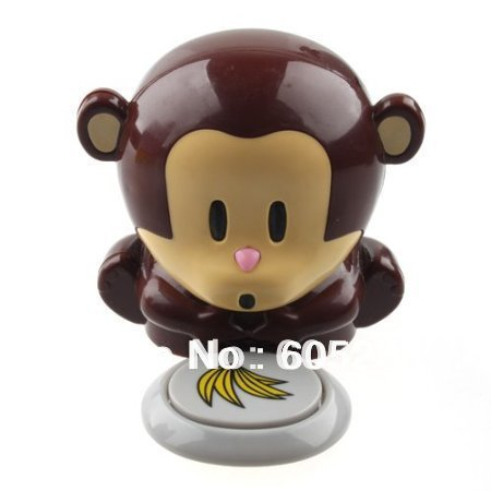 Free Shipping 2Pieces Monkey Portable Blow Nails Fingernail Dryer Nail Salons Stoving Implement