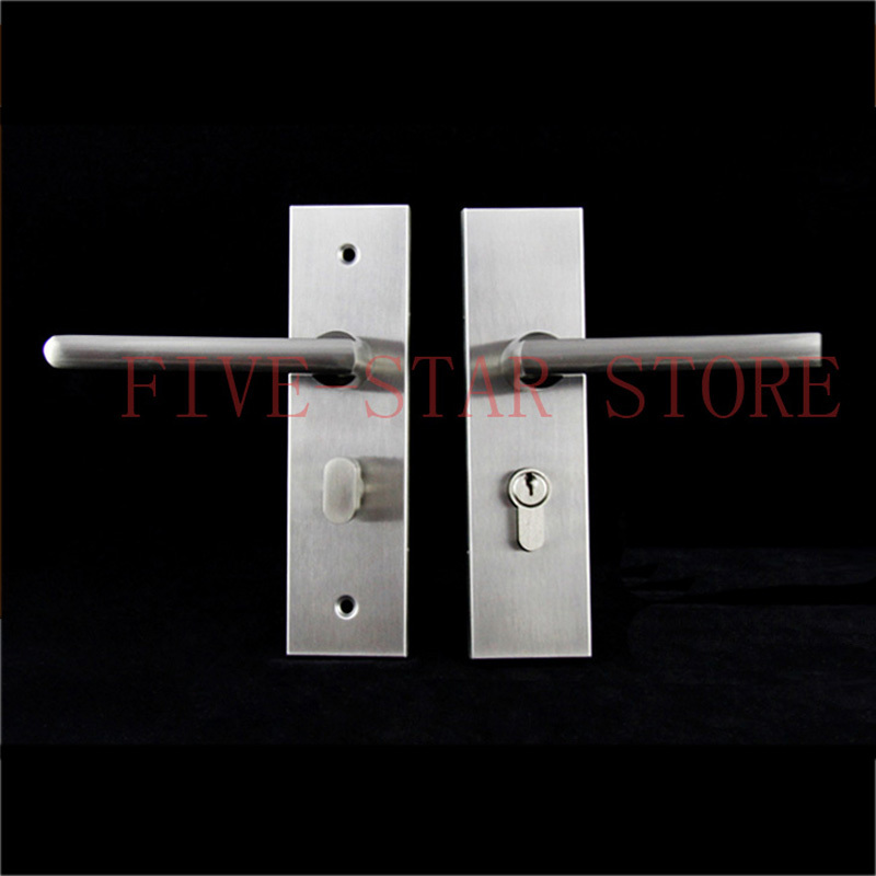 Modern Brief Design Interior Wood Door Lock Sus304