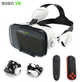 xiaozhai BOBOVR Z4 Pro Leather Version 3D Cardboard Virtual Reality VR Glasses Headset Vrbox Stereo Headphone