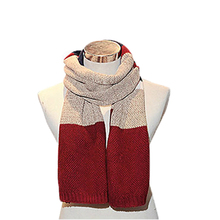 2015 Korean man leisure winter scarf fashion students warm scarf  thickening mixed color scarf 5 Colors 25   (China (Mainland))