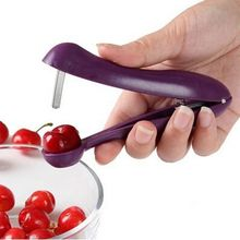 Kitchen Fashionable Easy Cherry Fruit Core Seed Remover Fruit Cherry Pitter Corer Kitchen Tool Accessories Freeshipping(China (Mainland))