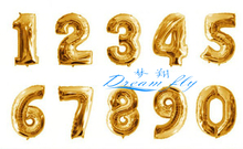HOT SELL16inch number balloon Digital Number Figure Balloon for Party Decoration 0 to 9