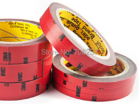 2015 Top Sale The Whole Body 3m Double sided Tape Width 0 6 0 8 1