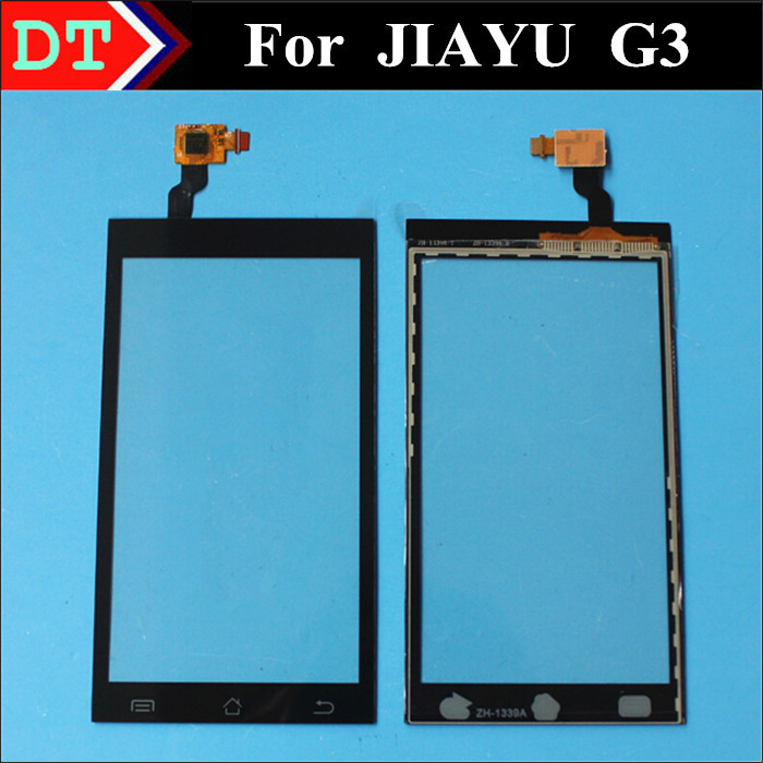 100% Original JY G3 Touch Screen Digitizer Replacement for JIAYU G3 G3T G3S G3C Smart phone Black color(China (Mainland))