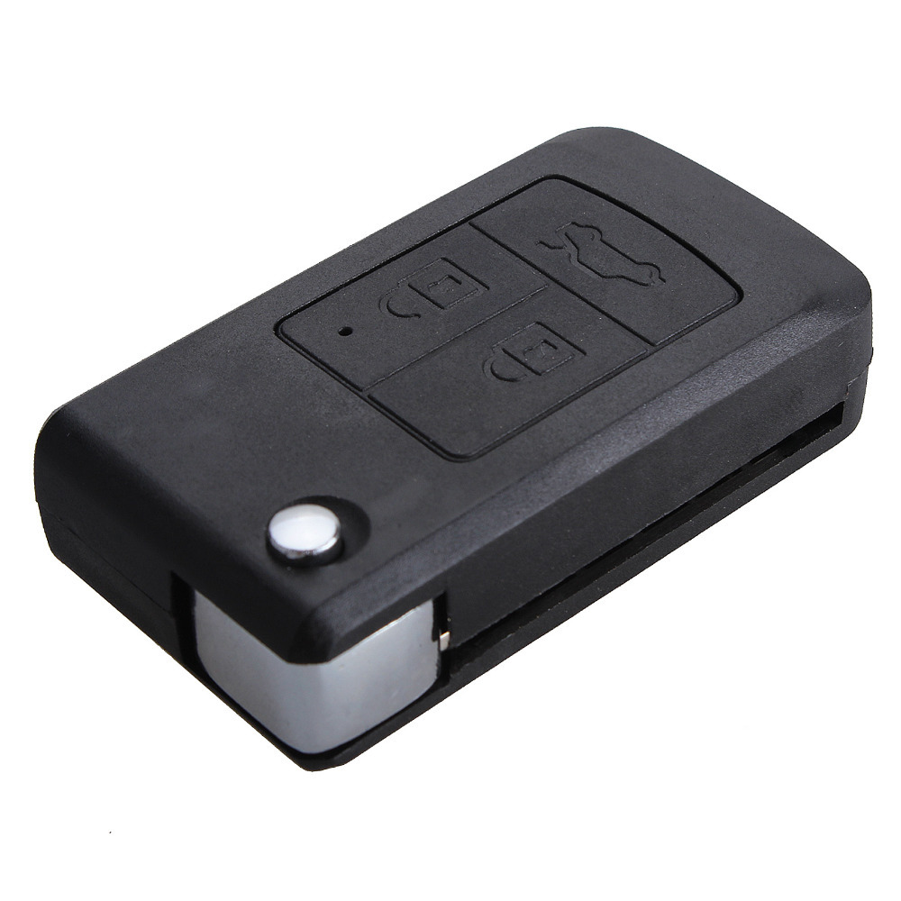 new Free Shipping Modified Uncut Flip Folding Car Blank Key Shell for Lada 3 Buttons(China (Mainland))