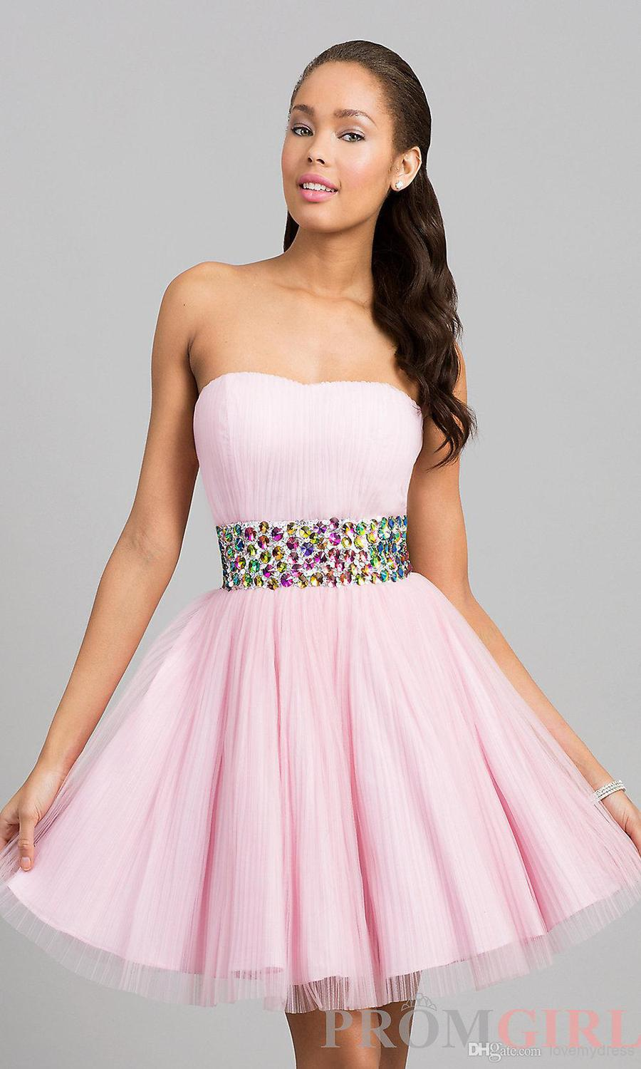 Kids Strapless Dresses