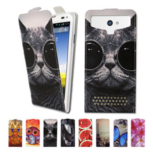 Buy Luxury high-grade printed butterfly universal flip leather phone case Prestigio MultiPhone Muze C3 3504 Duo,free gift-SX03 for $4.00 in AliExpress store