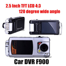 New Discount Car DVR Full HD 2.5 inch LCD Car DVR video Recorder Night Vision camcorder 120 degree wide angle Novatek(China (Mainland))