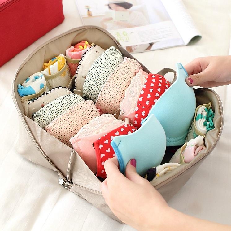 2015 New!Travel accessories women bra holder underwear organizer bags portable lingerie storage bag organizador de langerie(China (Mainland))