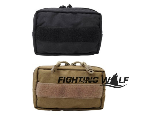 Tactical Combat CALDERAGEAR 1000D Molle Utility Lightweight EDC Pouch Medical First Aid Pouch Can Connect with Vest Waist Bag