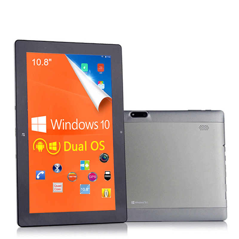 "10"" IPS Quad Core Windows Tablet 3G Phone Call 64GB IntelZ3735F GPS USB HDMI Windows 10+Android 4.4 dual boot Tablet 10.8(China (Mainland))"