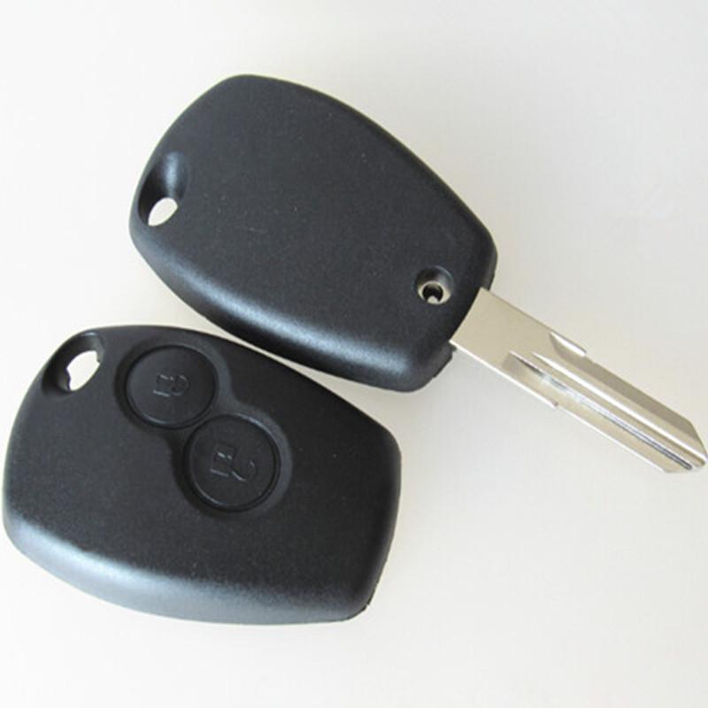 2 Buttons Remote Key Shell For Renault Traffic/Master/Vivaro/Movano/Kangoo FOB Case Blanks VAC102 Blade()