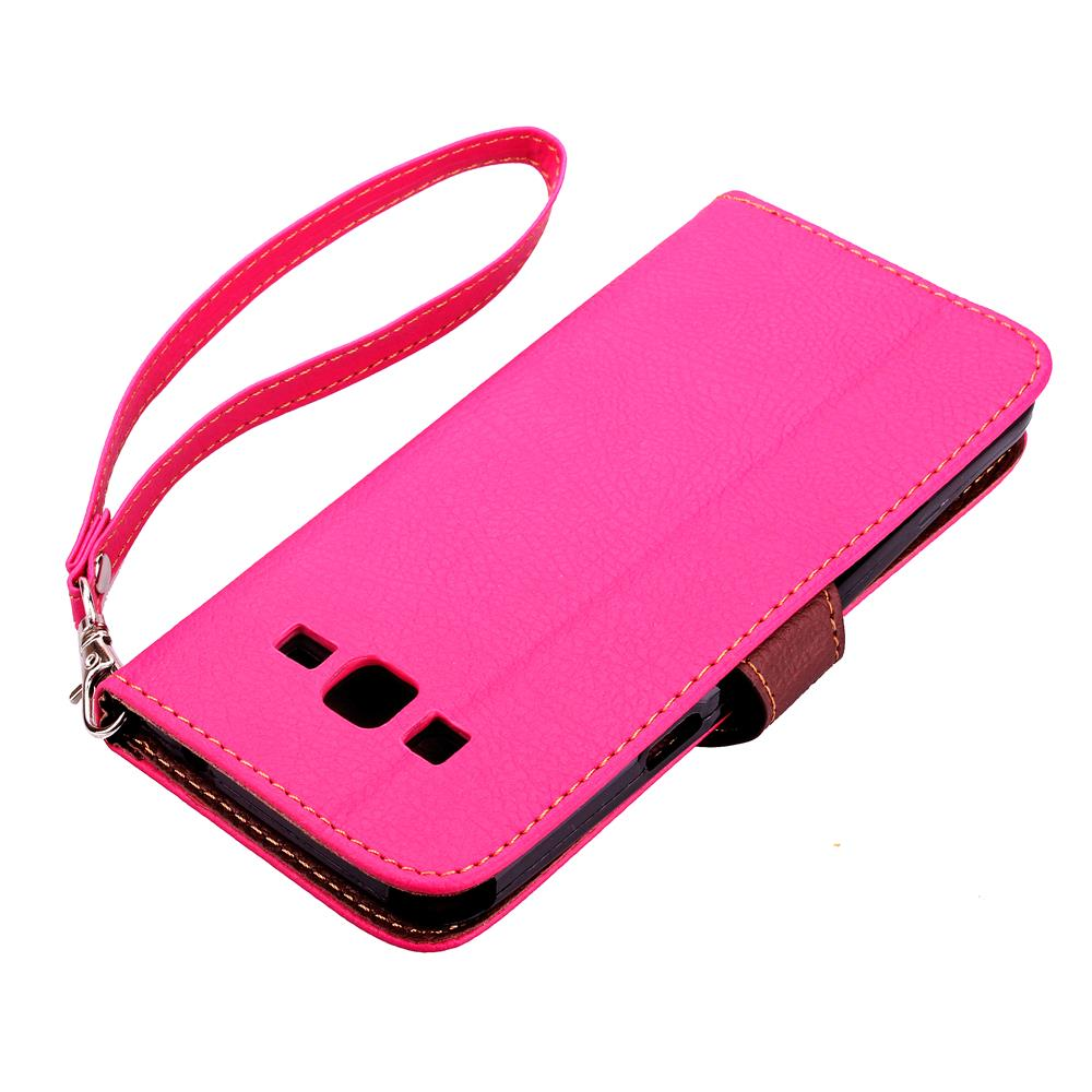 Case For Samsung Grand Prime Cover Soft Silicone & Flip Leather Case For Samsung Galaxy Grand Prime G530H Fundas Card Slot