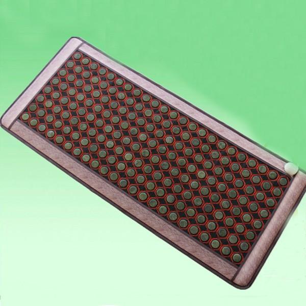 2016 Hot Heating Jade Cushion Mattress Natural Tourmaline Mat Physical Therapy Mat Korea Heated Mattress 0.7X1.6M Free Shipping cheap