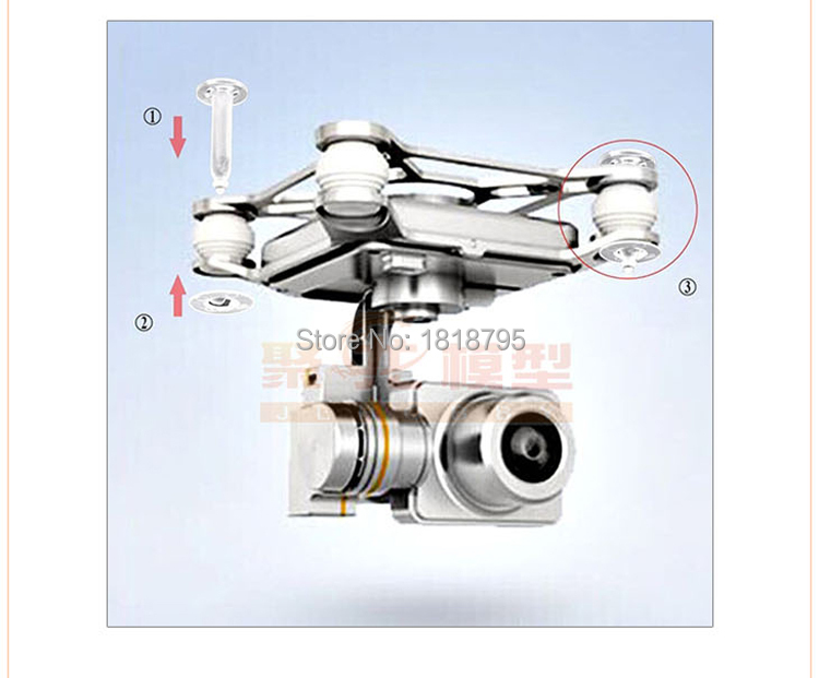 drone dji phantom 3 professional accessories Gimbal Protection phantom 3 professional camera Protector Holder Drone Parts