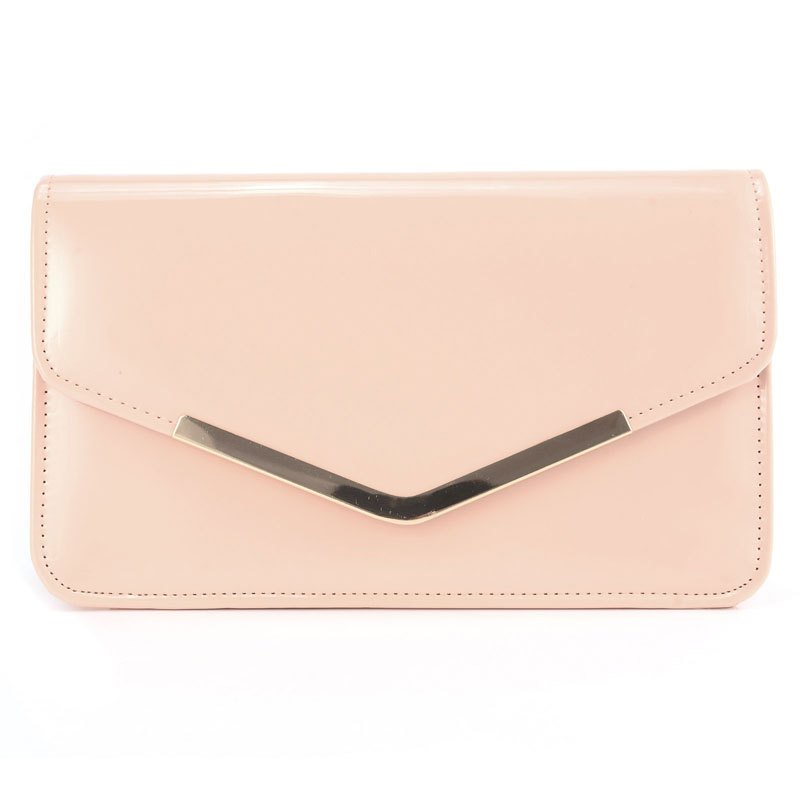 STYLISH PATENT WEDDING LADIES PARTY PROM EVENING CLUTCH HAND BAG PURSE(China (Mainland))